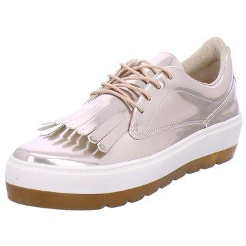SPM Shoes & Boots Modische Schnürschuhe gold