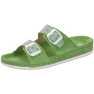 Dr. Feet Komfort Pantolette grün