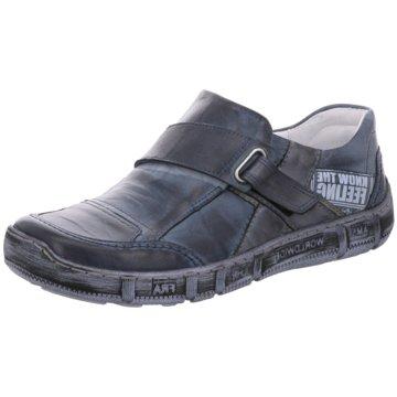 Kacper Komfort Slipper blau
