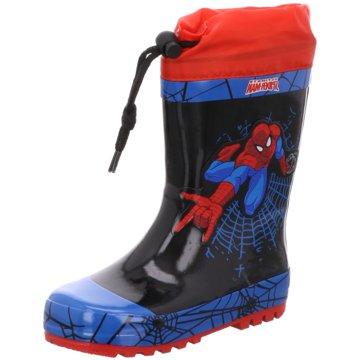 Spidermann Gummistiefel schwarz