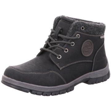 BM Footwear Schnürboot schwarz