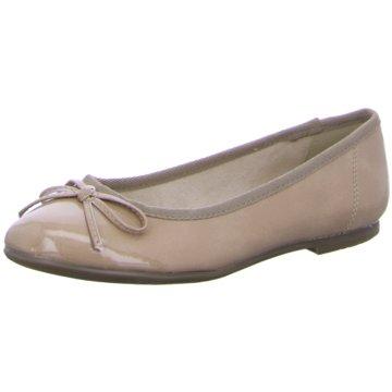 Tamaris Eleganter Ballerina beige