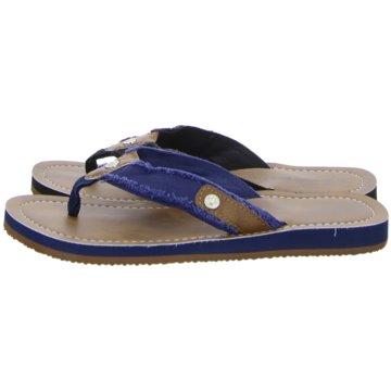 Hengst Footwear Bade-Zehentrenner braun