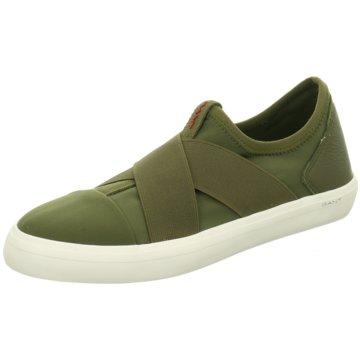 Gant Klassischer Slipper grün