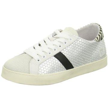 D.A.T.E. Modische Sneaker weiß