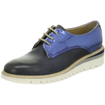 Calpierre Modische Schnürschuhe blau