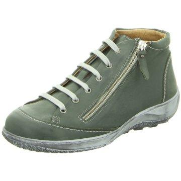 Dessy Komfort Stiefelette grün