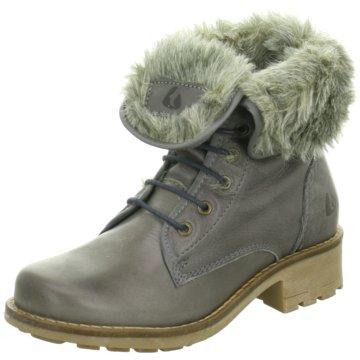 Online Shoes Schnürboot grau