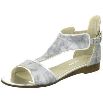 Mitica Modische Sandaletten silber
