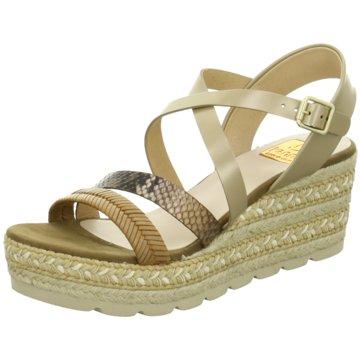 Kanna Modische Sandaletten beige