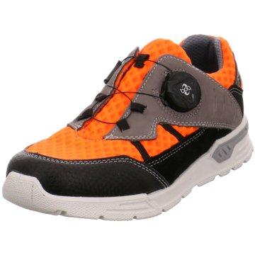 Ricosta Sportlicher Schnürschuh orange