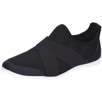 CROCS Sportlicher Slipper schwarz