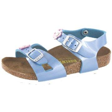 Birkenstock Sandale blau