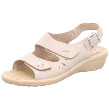 Fly Flot Komfort Sandale beige