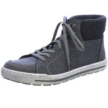Rieker Sneaker High schwarz