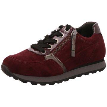 Gabor comfort Sportlicher Schnürschuh rot