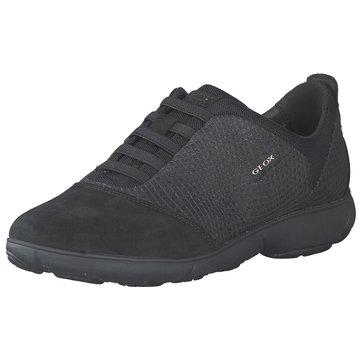 Geox Sportlicher Slipper schwarz