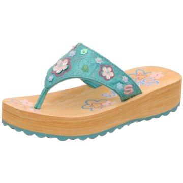 Skechers Offene Schuhe türkis