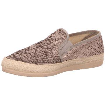 Alpe Woman Shoes Klassischer Slipper silber