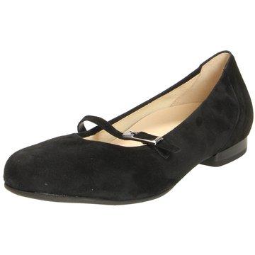 Gabor comfort Riemchen Ballerina schwarz