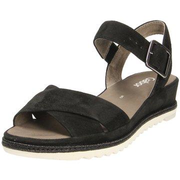 Gabor Sandale schwarz