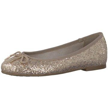 Tamaris Eleganter Ballerina gold