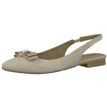 Tamaris Sling Ballerina beige