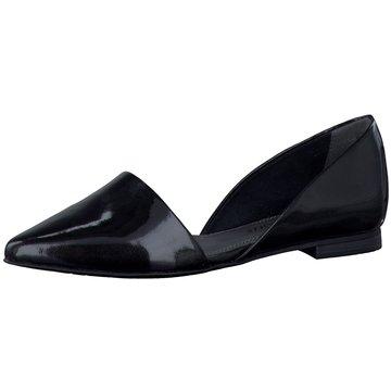 Marco Tozzi Eleganter Ballerina schwarz