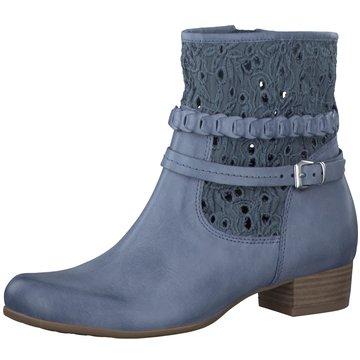 Caprice Klassische Stiefelette blau