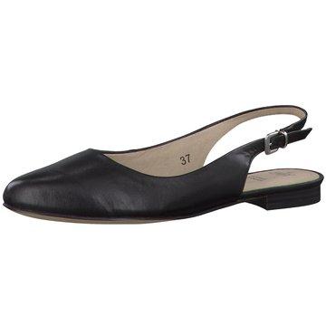 Caprice Sling Ballerina schwarz