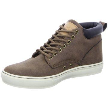 BRITISH KNIGHTS Sneaker High braun