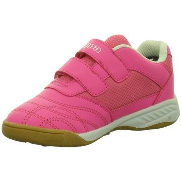 Kappa Trainings- und Hallenschuh pink