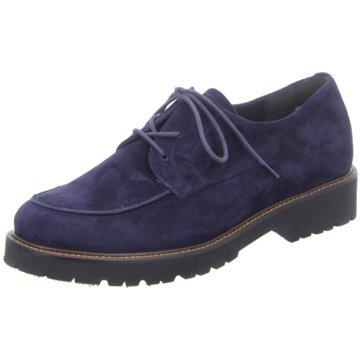SEMLER Komfort Mokassin blau