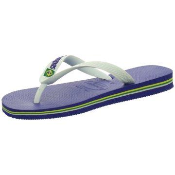 havaianas Offene Schuhe blau