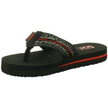 TEVA Offene Schuhe schwarz