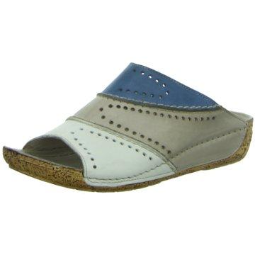 Gemini Komfort Pantolette blau
