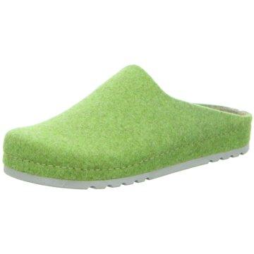 BECK Hausschuh grün