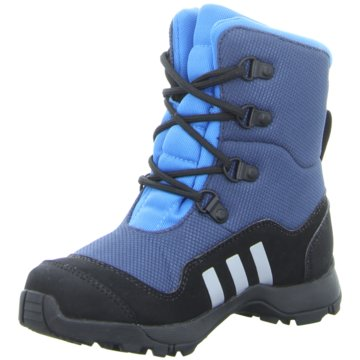 adidas Winterstiefel blau