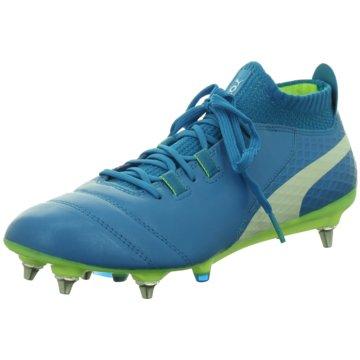 Puma Stollen-Sohle blau