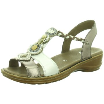 ara Komfort Sandale silber