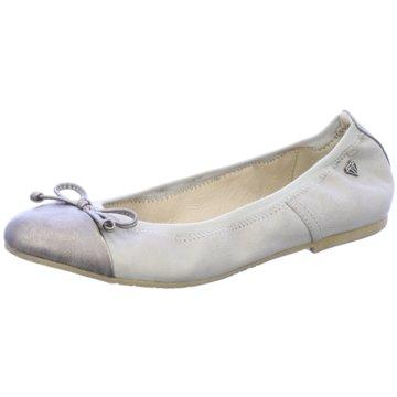 Pep Step Faltbarer Ballerina grau