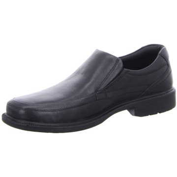 Montega Shoes & Boots Business Slipper schwarz