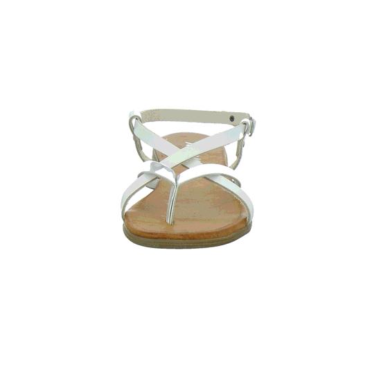 Wei kombi Von Bianco Marchesini 217020 argento Zehenstegsandalen 1TJFlKc