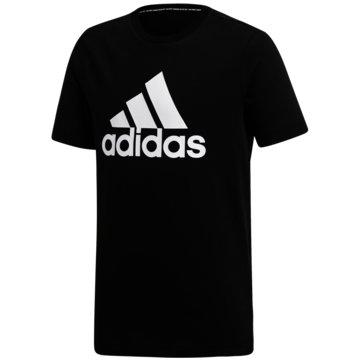 adidas T-ShirtsMUST HAVES  BADGE OF SPORT T-SHIRT - DV0816 schwarz