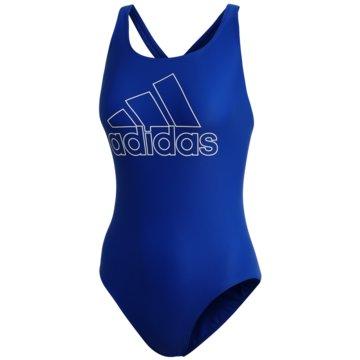 adidas BadeanzügeFIT SUIT BOS - DY5901 blau