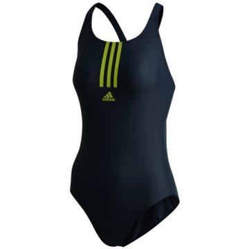 adidas Badeanzügeadidas SH3.RO Mid 3-Stripes Swimsuit - FJ4536 -