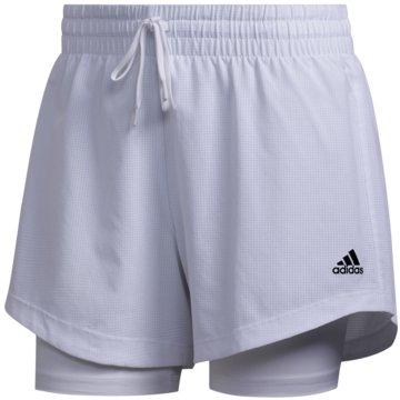 adidas kurze Sporthosen2IN1 WOV SHORT - FJ7133 weiß