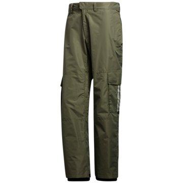 adidas Schneehosen10K CARGO PANTS - FJ7500 grün
