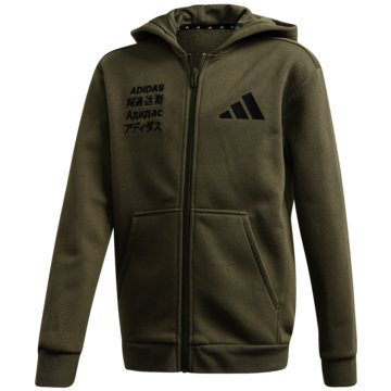 adidas Trainingsjackenadidas Athletics Pack Fleece Kapuzenjacke - FM0201 -