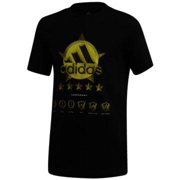 adidas T-ShirtsSPACER GRAPHIC T-SHIRT - FM4474 schwarz